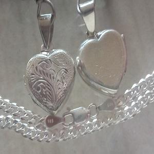92.5% Silver Pendants & Chain