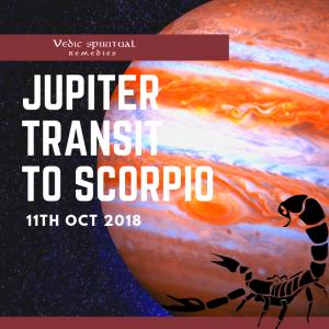 Jupiter transit Scorpio